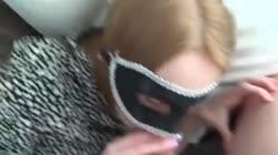 Blindfolded Teen