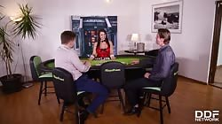 DDFBusty  Chloe Stacked Poker Babe Dped