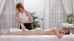 AllGirlMassage  Kristen Scott And Lacy Lennon Who On Earth Hates Massages