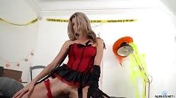 Nubiles Gina Gerson Burlesque Beauty
